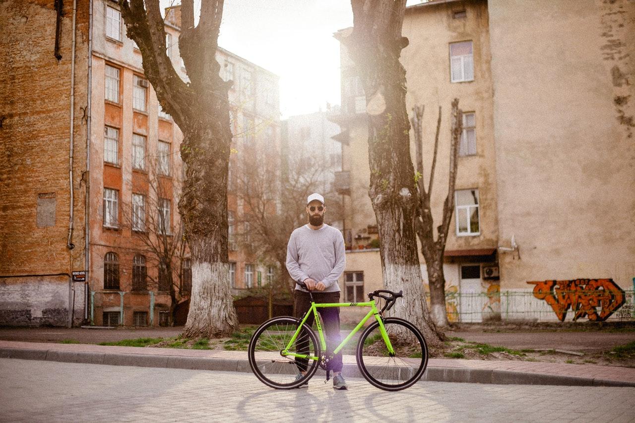 Das Fahrrad und die Torte